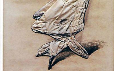"""Venduta l'opera """"Wrapped office chair"""" di Christo"""