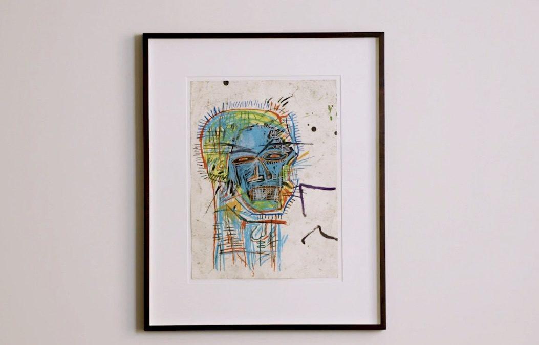 """Untitled (Head)"" di Jean-Michel Basquiat in asta da Sotheby's dal 29 giugno"