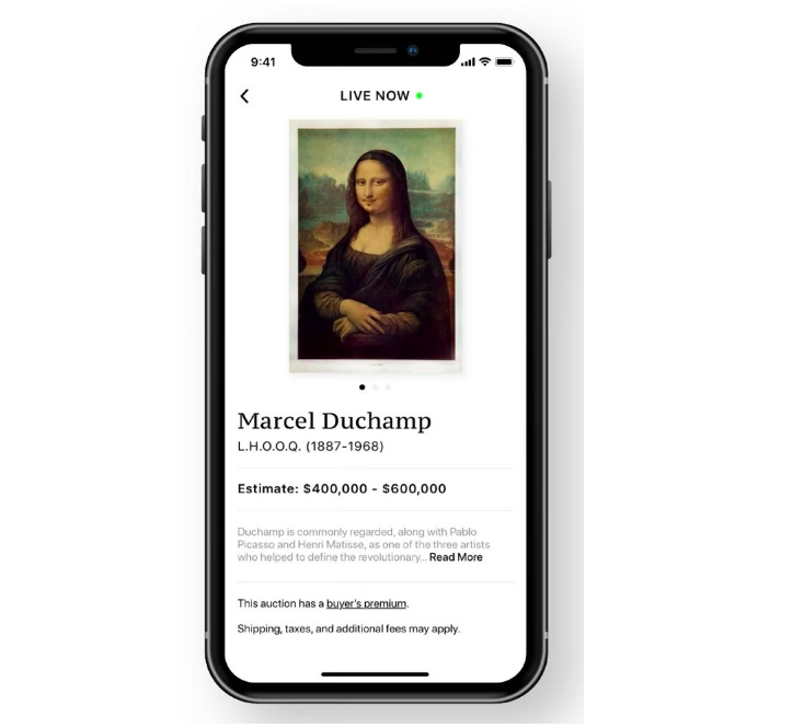 Fair Warning è la nuova l'app che consente agli acquirenti di combinare la privacy con l'eccitazione delle aste in sede