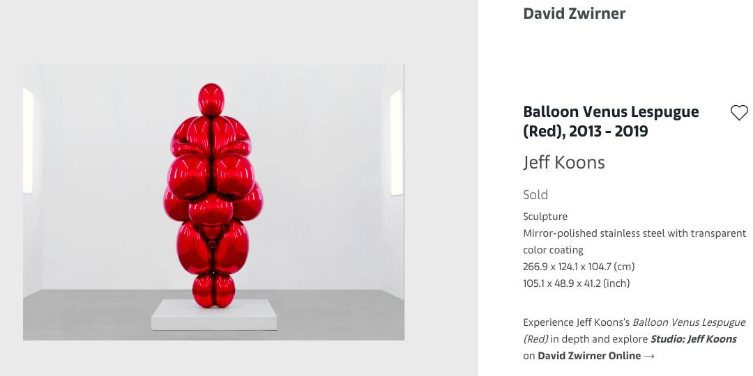 risultati della seconda edizione di Art Basel online. Record di vendite online per la galleria David Zwirner