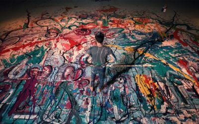 The largest painting in the world is the work of Sacha Jafri