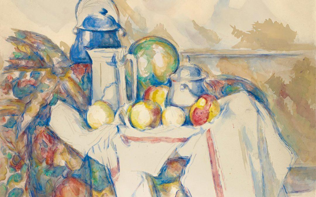 Cézanne all'asta da Christie's, Nature morte avec pot au lait, melon et sucrier (1900-2006)