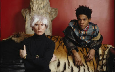 The meeting between Basquiat and Warhol