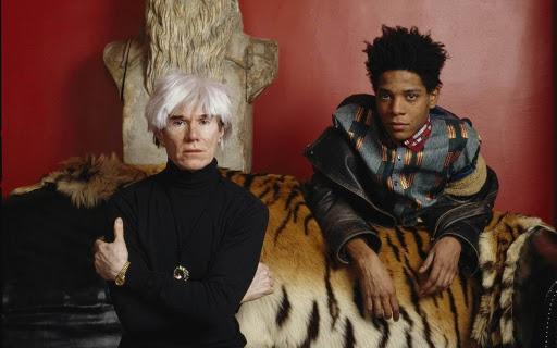 Jean-Michel Basquiat e Andy Warhol