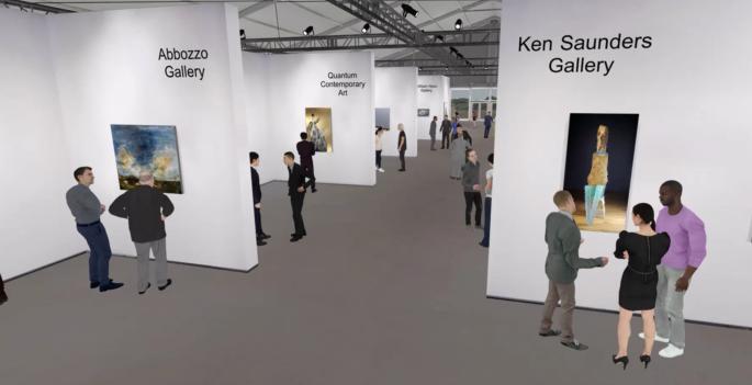 La prima fiera d'arte virtuale negli Hamptons
