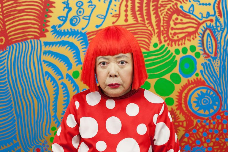Yayoi Kusama: l'artista a Pois da 75.000.000 euro