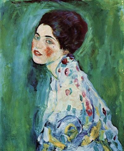 """Il """"Ritratto di signora"""" rubato di Klimt è tornato esposto in Galleria a Piacenza"""