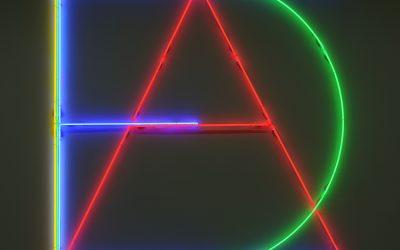"""""""Quattro idee"""" a Bologna la collettiva degli artisti Øystein Aasan, Peter Halley, Jonathan Monk, Maurizio Nannucci"""