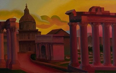 L'importanza della memoria di Salvo, la strada scomparsa di Roma che rivive in un dipinto dell'artista
