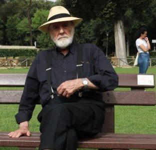 """""""100 Panchine per Roma"""" il Maestro Pistoletto presente alla conclusione dell'evento"""